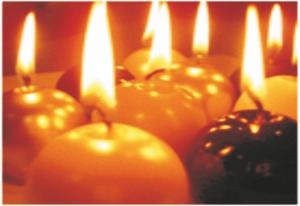 Atem holen im Advent - Kerzen