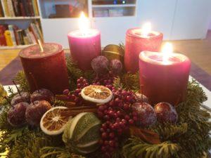 Atem holen im Advent - 3 Kerzen