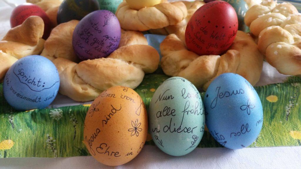 Kreativ gestalten Ostern