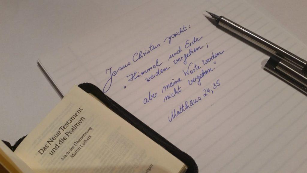 Sprüche der Bibel