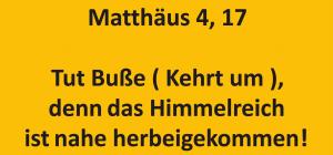 bibelkurs-Matthäus 4,17