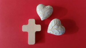 Predigt zu Matthäus 25 Herz Kreuz Liebe Glaube Hoffnung