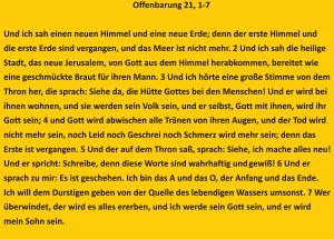 Bibelkurs-Offenbarung 21