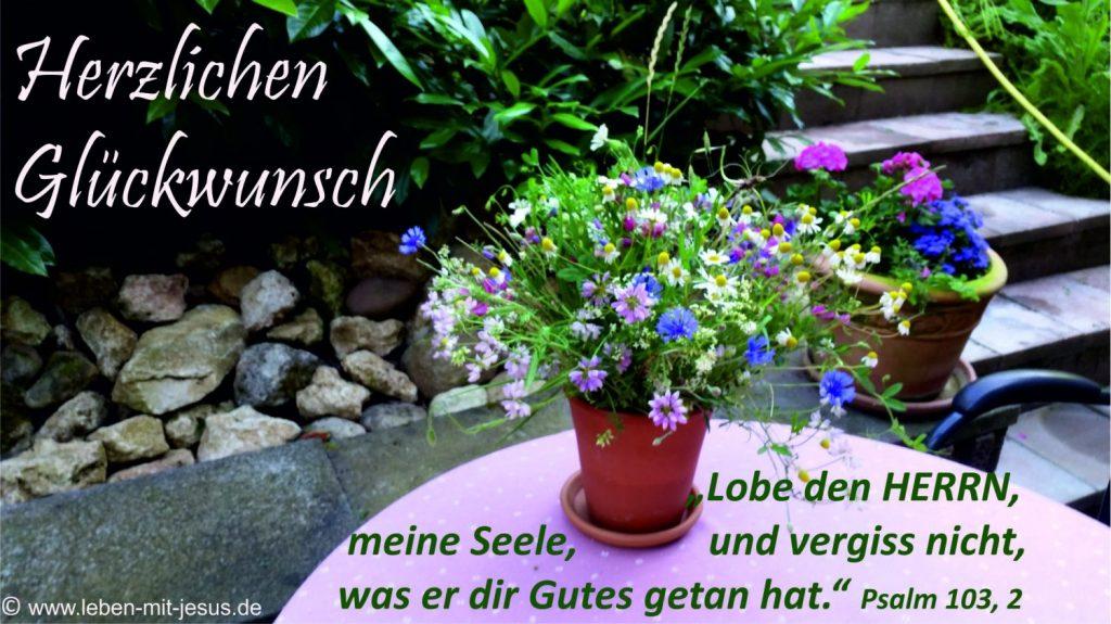 e-cards Blumenstrauß