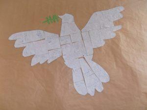 Predigt zu Jesaja 2 Frieden Friedenstaube