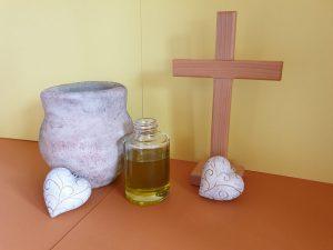 Predigt zu Lukas 7 Salböl Ölkrug Kreuz Jesus Salbung