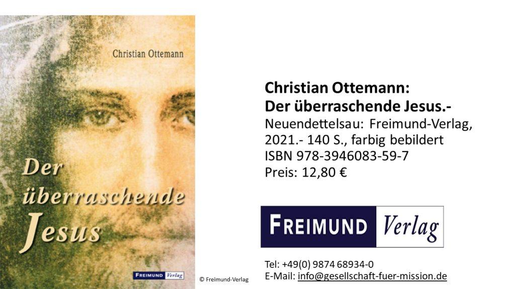 Buchtipps Rezension Ottemann Jesus